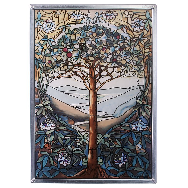 Tree Of Life Art Glass Wall Décor Part 29
