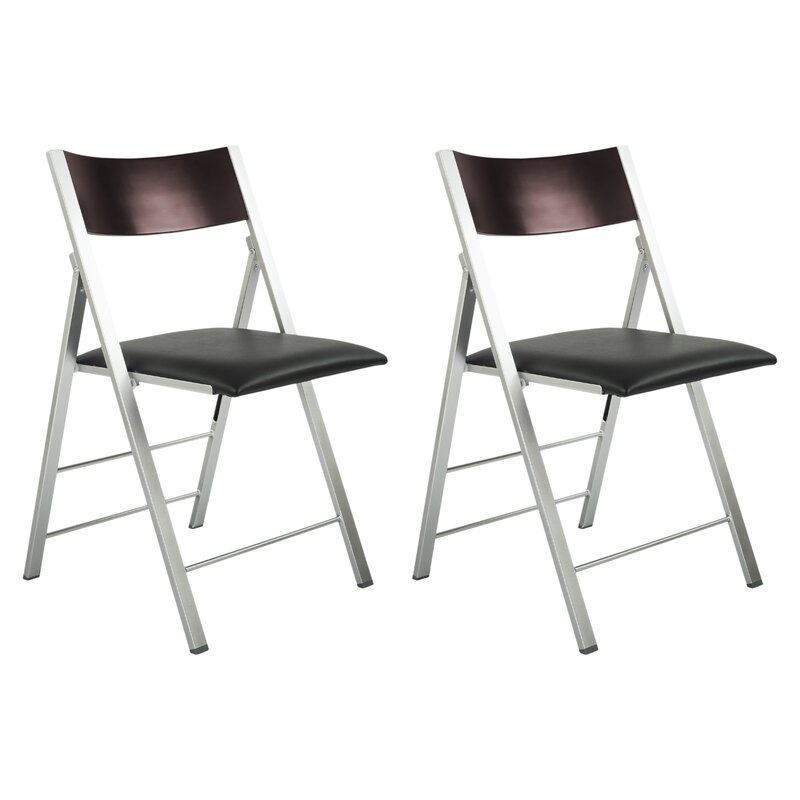 Delightful Modern Folding Chair #16 - Comfort And Style Modern Metal Folding Chair