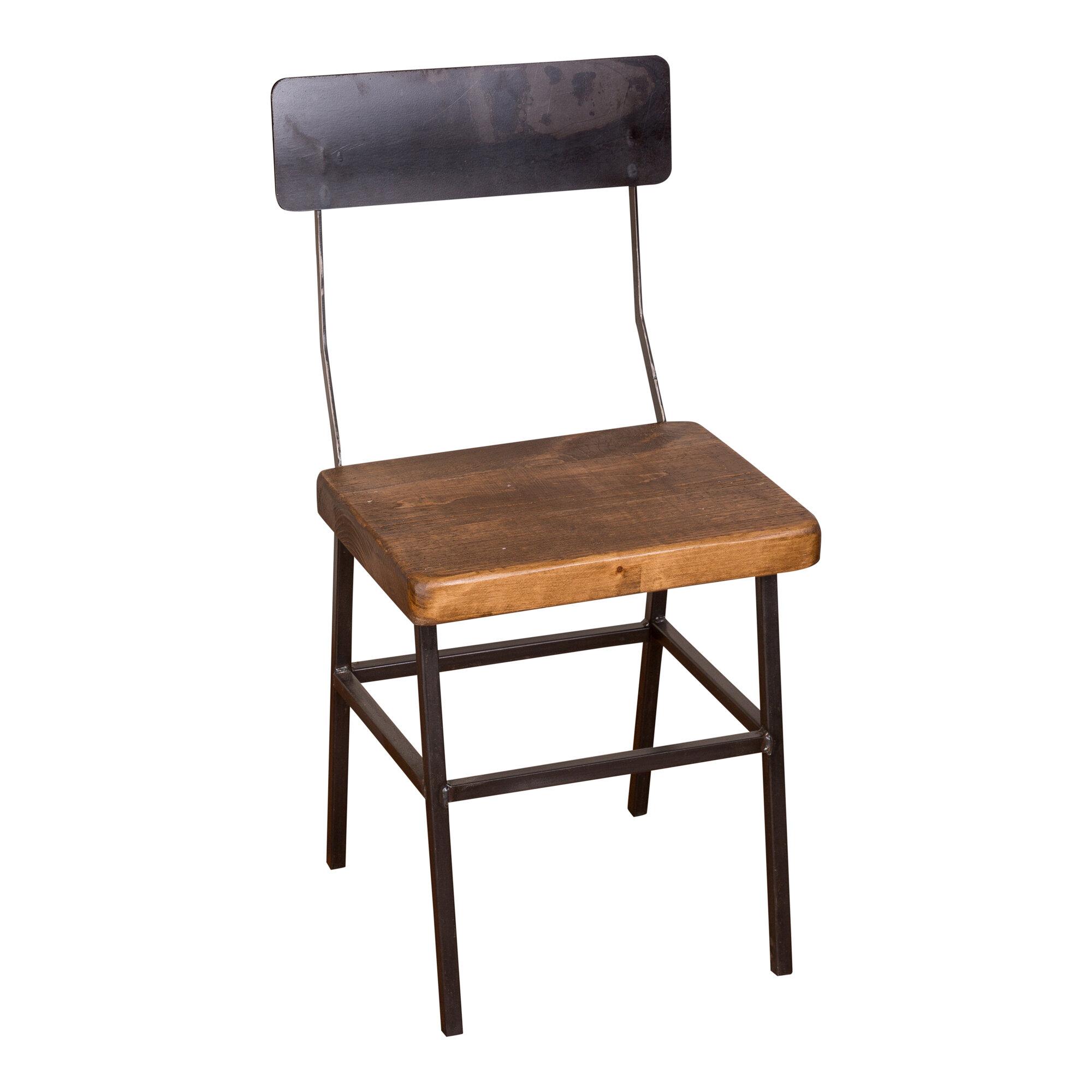 Millwood pines mitzi industrial dining chair wayfair