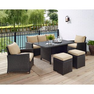 6 Piece Outdoor Furniture Set Wayfair