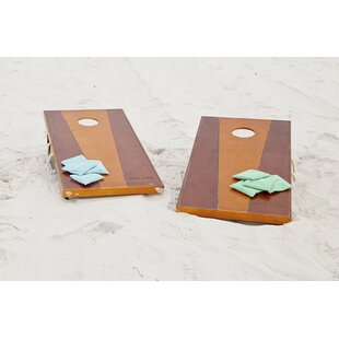 CORNHOLE BEAN BAGS Red /& Turquoise 8 ACA Corn Hole Game Toss Bags Marshall Herd
