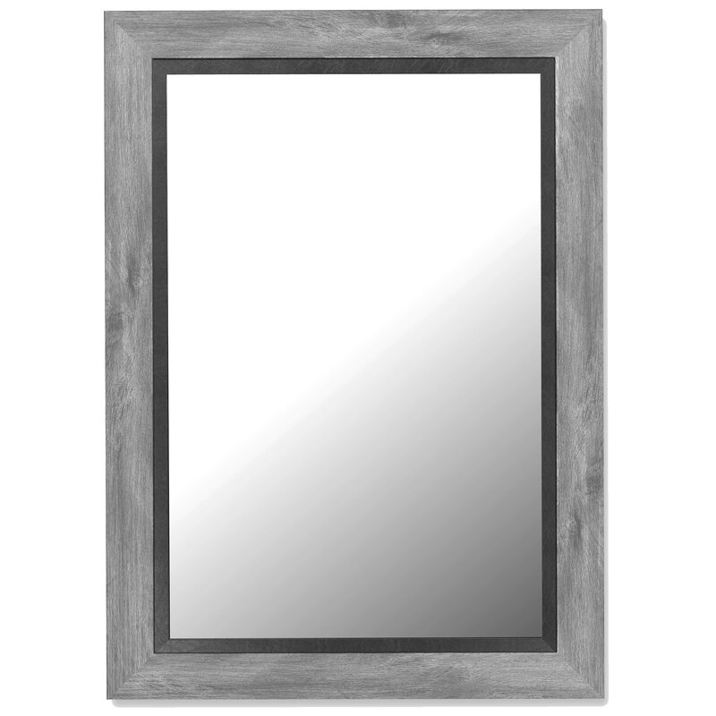 Black Wall Mirrors hitchcock butterfield company coastal weathered gray and black