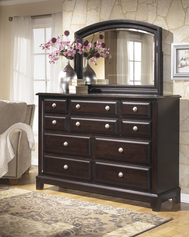 Download Bedroom Ashley Furniture Store Bedroom Sets With: Signature Design By Ashley Ridgley 10 Drawer Dresser
