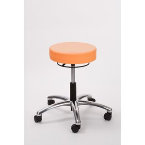 height adjusts brandt airbuoy pneumatic stool with ring release