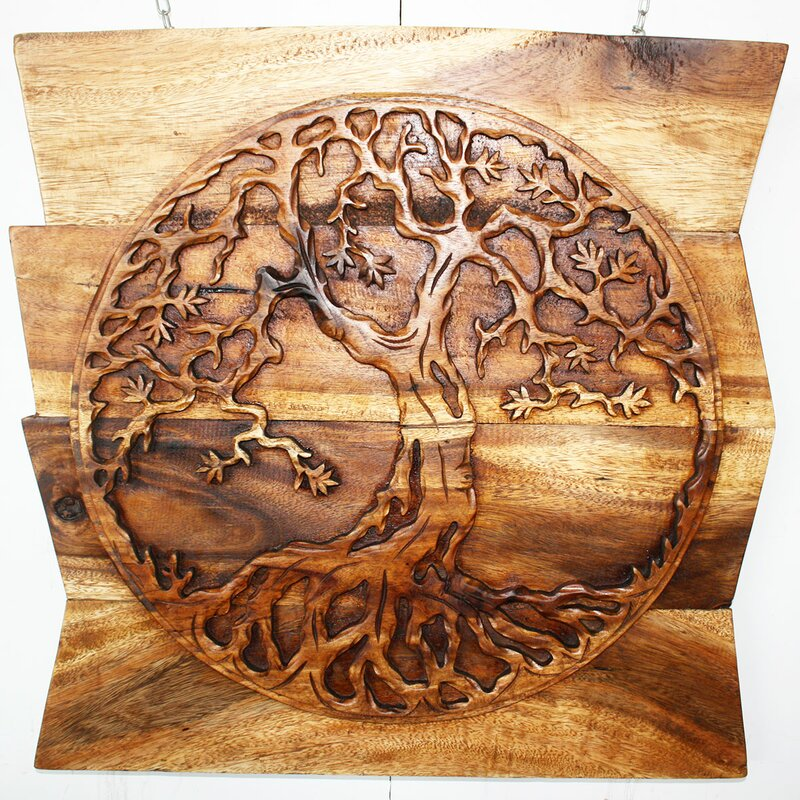 Superb Tree Of Life Round Wall Décor Part 27