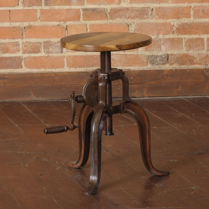 William Sheppee Mill Adjustable Height Bar Stool Amp Reviews