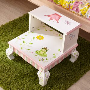 Princess and Frog Step Stool by Fantasy Fields