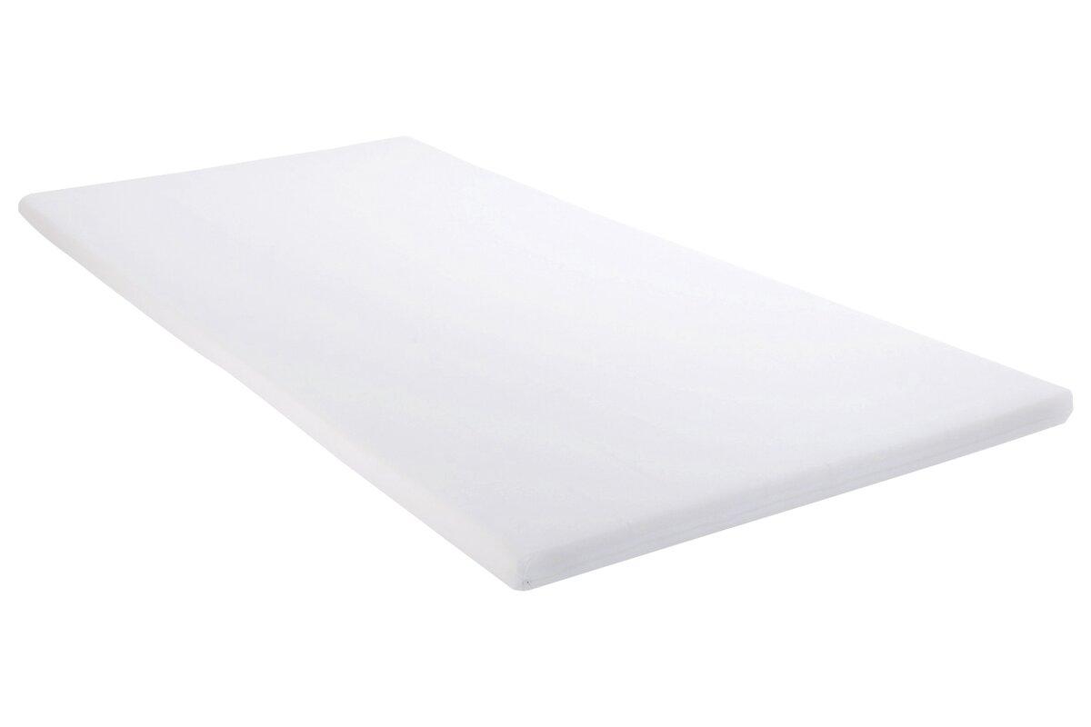 wayfair basics viscoelastische matratzenauflage handy bewertungen. Black Bedroom Furniture Sets. Home Design Ideas
