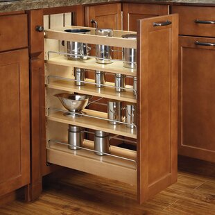 Pull Out Wood Base Cabinet Organizer