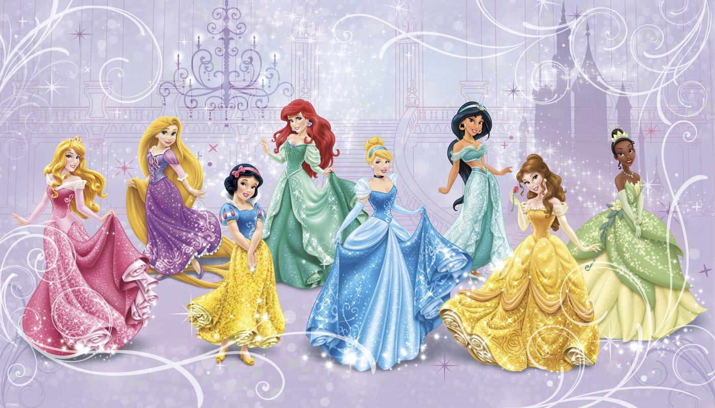 Charming Walt Disney Kids II Disney Princesses Royal 10.5u0027 X 18 Part 10
