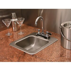 A-Line by Advance Tabco Single Bowl Drop-In Kitchen Sink