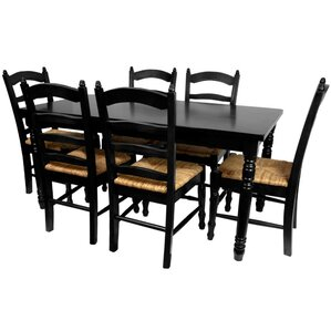 Adelphi 7 Piece Dining Set by Charlton Home