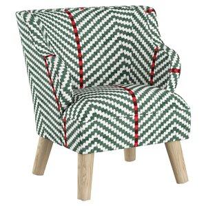 Britt Modern Kids Club Chair by August Grove
