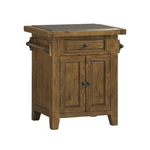 McAlester Kitchen Cart with Granite Top