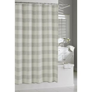 Burdella Linen Shower Curtain