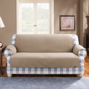 Cotton Duck T-Cushion Sofa Sli..