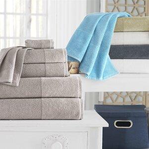 Incanto 100% Turkish Cotton 4 Piece Bath Towel Set (Set of 4)