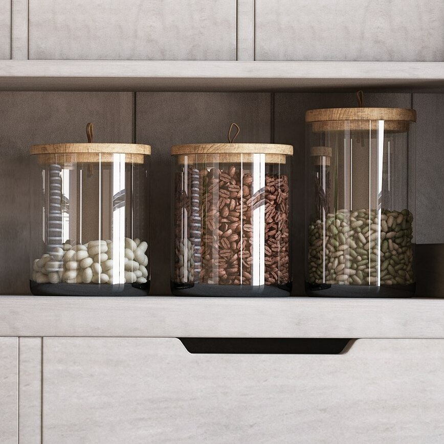 Laurel Foundry Modern Farmhouse Rustic Kitchen Canister Reviews Wayfair