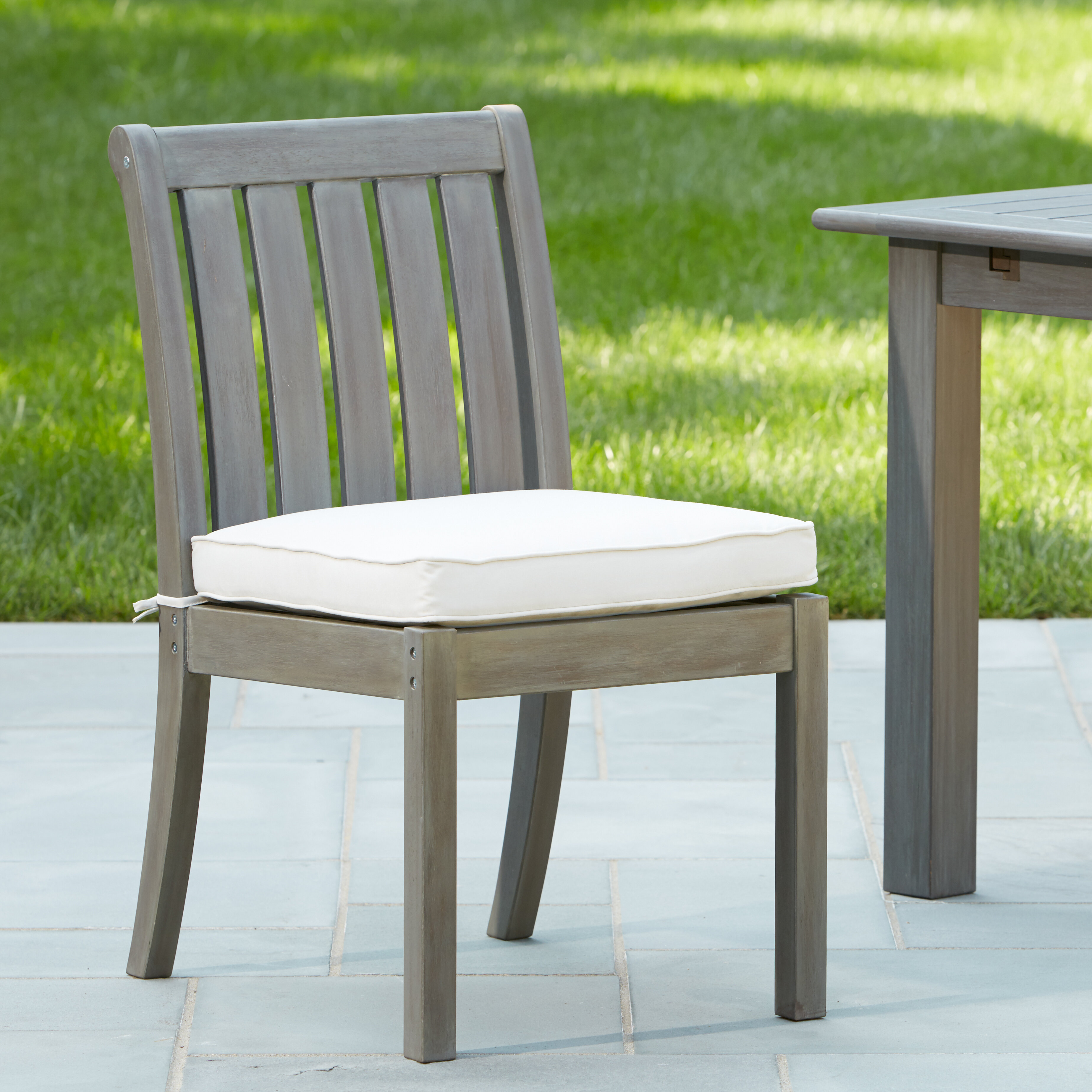 Rossi Patio Dining Chair with Cushion & Reviews