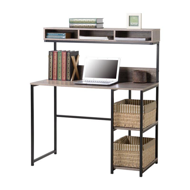 Petri Computer Desk With Hutch