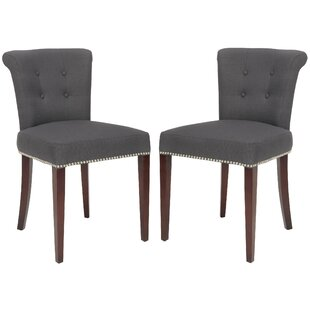 Arion Ring Upholstered Dining Chair (Set Of 2)