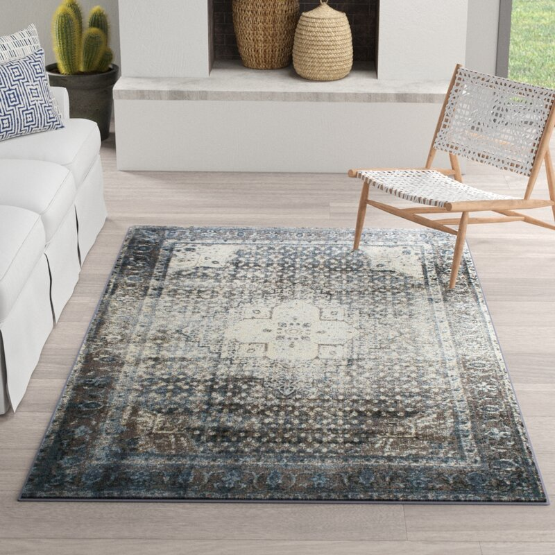 Pascoe Blue Grey Silver Area Rug Amp Reviews Joss Amp Main