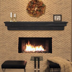 Modern & Contemporary Fireplace Mantels You'll Love | Wayfair