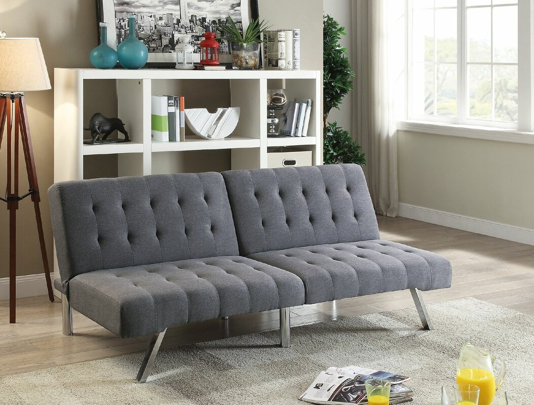Awesome Ina Adjustable Futon Sofa