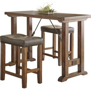 Norrell 3 Piece Counter Height Dining Set