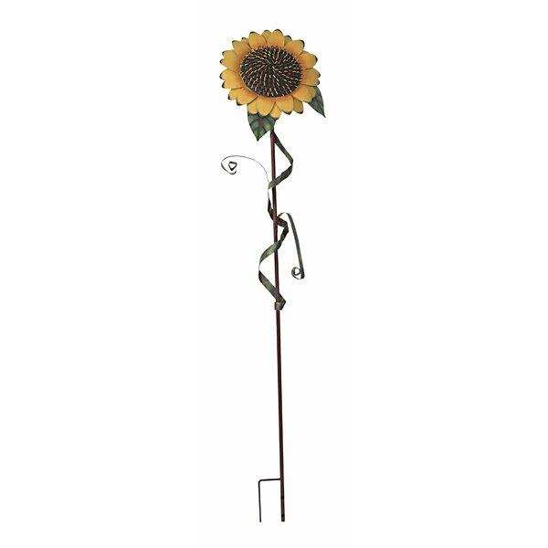 AttractionDesignHome Sunflower Garden Stake U0026 Reviews | Wayfair