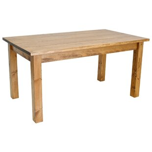Early American Solid Wood Dining Table