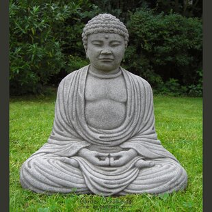 Buddha for garden wayfair buddha stone garden statue workwithnaturefo