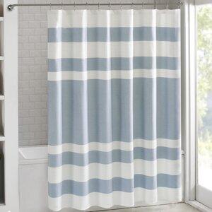 Gwendolen Waffle Shower Curtain