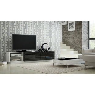 White High Gloss Tv Stand Wayfair