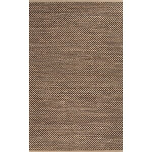 Moncayo Taupe/Brown Solid Area Rug