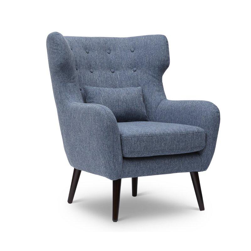 Charmant Grabowski Mid Century/Modern Wingback Chair