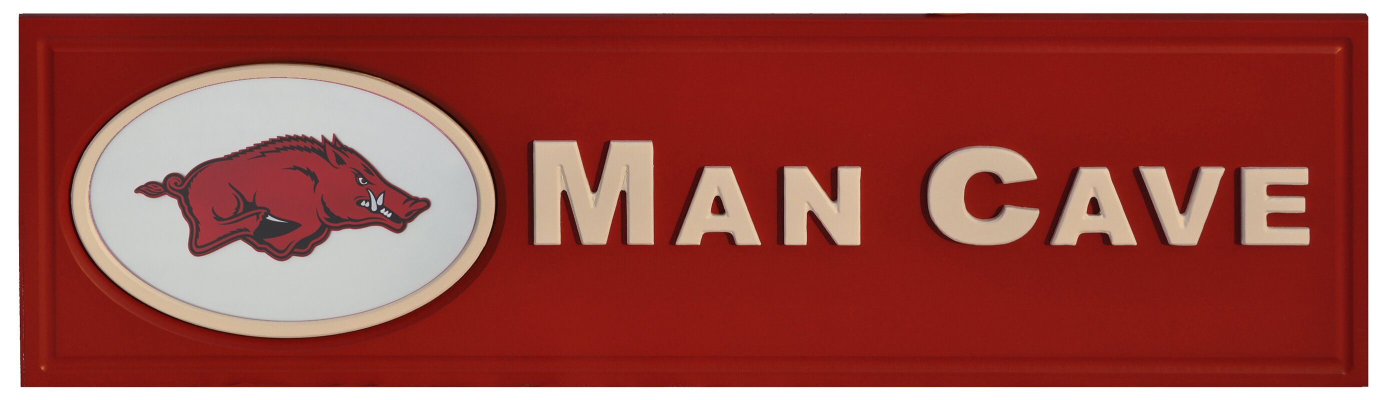 NCAA Man Cave Textual Art Plaque
