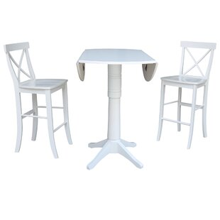 Kimbrough 3 Piece Pub Table Set