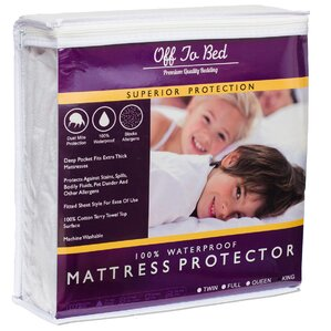 Hypoallergenic Waterproof Mattress Protector by Off To Bed