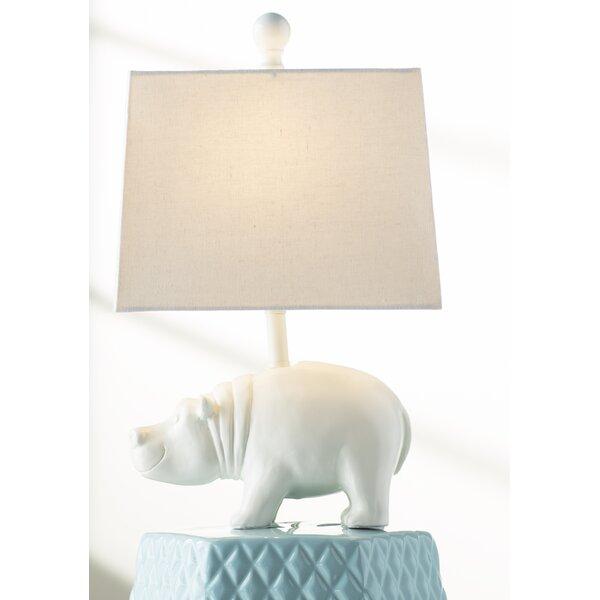 "Hippo Table viv + rae bryan hippo 16.25"" table lamp & reviews | wayfair"