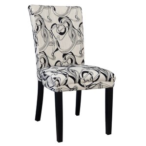 Misty Parson Chair (Set of 2) by Chintaly Imports