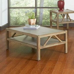 Maryland Rectangle Coffee Table by Rosecliff Heights