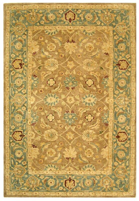 Safavieh Anatolia Hand Tufted Yellow Green Area Rug