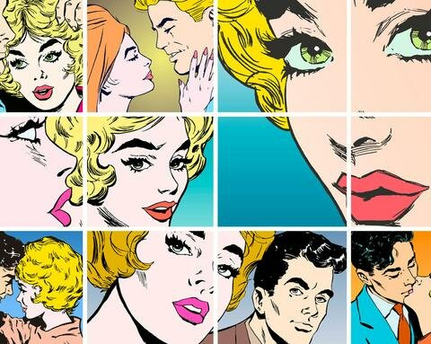 Pop Art Wallpaper Wall Mural
