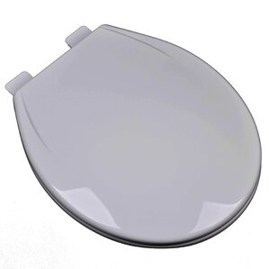 grey soft close toilet seat. Slow Close Plastic Contemporary Round Toilet Seat Grey Seats You ll Love  Wayfair