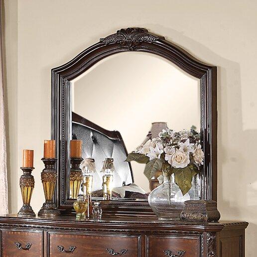 Astoria Grandfarrington Crowned Top Dresser Mirror