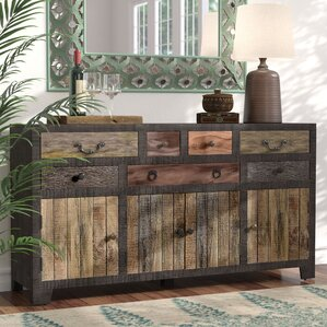 Dureau 7 Drawer 4 Door Sideboard by World Menagerie