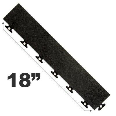 """18"""" Multi Purpose Ramp Edges In Black Blocktile"""