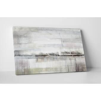 U0027Valley Fairu0027 Acrylic Painting Print On Canvas