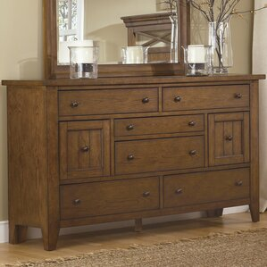 Methuen 8 Drawer Standard Dresser by Loon Peak